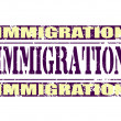 Immigration — Stock Vector #40420961