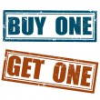 Buy one — Stock Vector