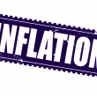 Inflation — Vector de stock