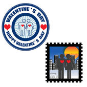Valentine's day — Vettoriale Stock