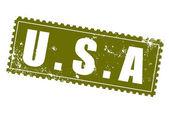 アメリカ — ストックベクタ