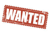 Wanted — Stock Vector