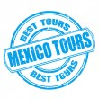 Mexico tours — Stock Vector #40776635