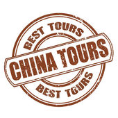 China tours — Stock Vector