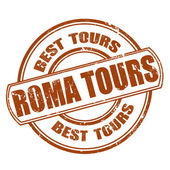 Roma tours — Stock Vector