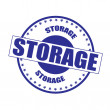 Vector de stock : Storage