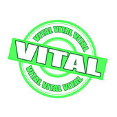 Vital — Stock Vector