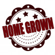 Vector de stock : Home grown