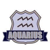Aquarius — Stock Vector