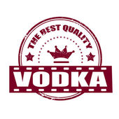 Vodka — Stock Vector