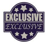 Exclusieve — Stockvector