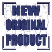 Nuevo producto — Vector de stock