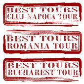 Best tours  — Stock Vector