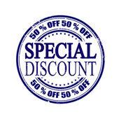 Special discount  — Stock Vector