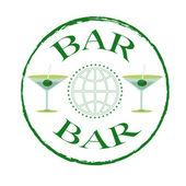 Bar stamp  — Stock Vector