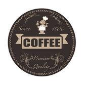 コーヒー スタンプ — ストックベクタ
