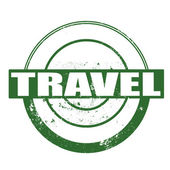Travel stamp — Stock Vector