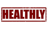 Healthly stamp — Stockvektor