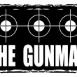 Постер, плакат: The gunman stamp
