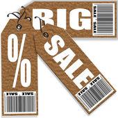 Big sale set  — Stock Vector