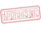 Marrakesh stamp  — Stock Vector