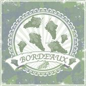 Bordeaux background  — Stockvector