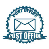 Post office stamp — Stock Vector