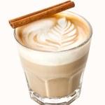 insolite cappuccino en verre de whisky — Photo #29882785