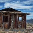 Stock Photo: Decayed cabin in Randsberg