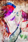 The Kiss — Stock Photo