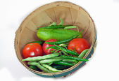 Veggie basket — Stock Photo