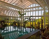 Vista da piscina — Fotografia Stock