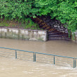 Flooding   in Turin — Stock Photo