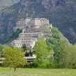 Bard fort in Aosta Valley — ストック写真