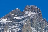 Снег в горах — Стоковое фото