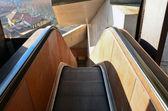 Public external escalators — Stock Photo