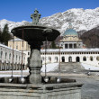 Stock Photo: Fountain of Sanctuary of Oropa