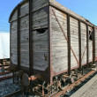 Old rail freight wagon — Stock Photo