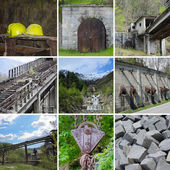 Mines Traversella - Piedmont — Stock Photo