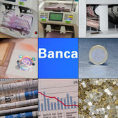 The detector of banknotes for the count of notes and different bank items — Stock Photo