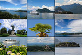 Set of Lake Maggiore — Stock Photo