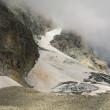 Stock Photo: Glacier in the high altitude
