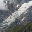 Stock Photo: Glacier in high altitude