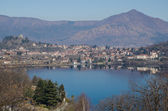 Lake Avigliana in Susa Valley — Stock Photo