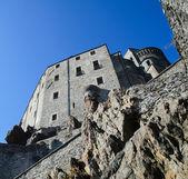 A abadia de san michele — Fotografia Stock
