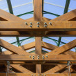 Wood truss — Stock Photo #31045889