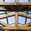 Wood truss — Stock Photo