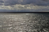 Sea, sky and clouds — Stock Photo