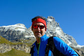 Hiking in Aosta Valley — Stock Photo