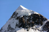 The Western Breithorn — Stock Photo